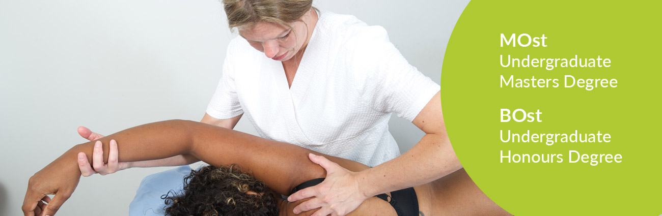 Study for a MOst or BOst degree at the London School of Osteopathy